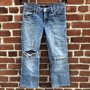 Marc Jacobs Crop Denim Jeans Size 4
